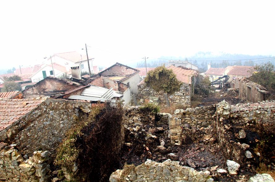 Duzentas habitações totalmente destruídas pelo incêndio — Pedrógão Grande