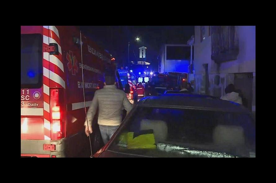 8 mortos num incêndio em Tondela