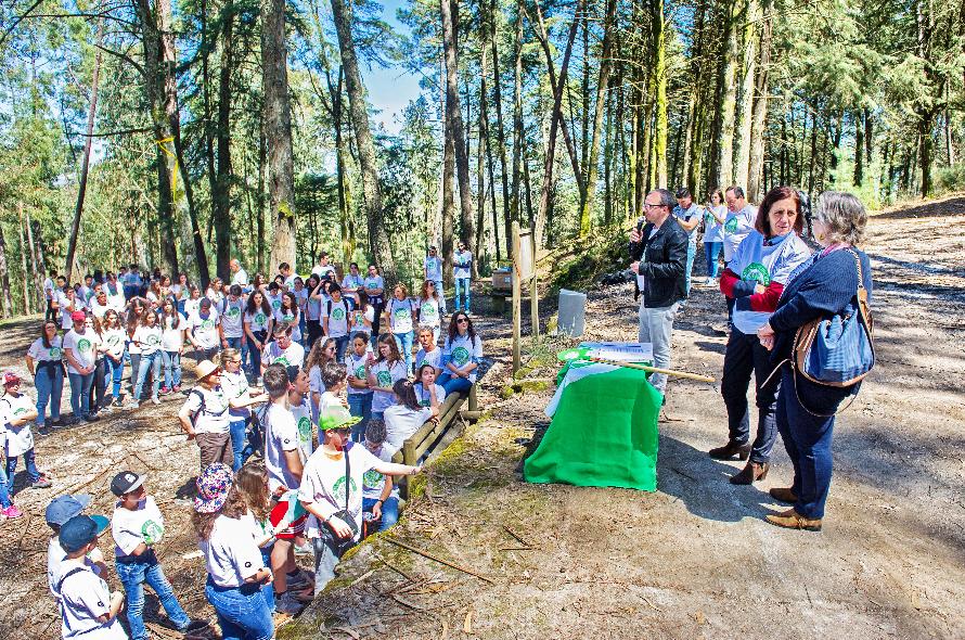 65bbd69dec5 Cerca de três centenas de jovens das quatro eco-escolas do concelho